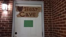 Bear Cave door dec