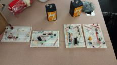 Rocket ignition circuits with new and improved batteries